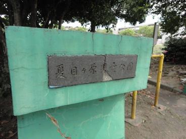 夏目ヶ原児童公園の画像1