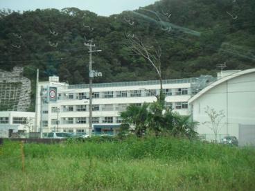 石巻市立渡波中学校の画像1
