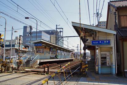 京阪電気鉄道石山坂本線・島ノ関駅の画像1