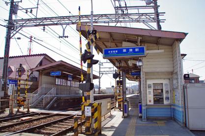 京阪:粟津駅の画像1