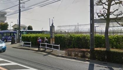 調布車庫前・バス停(調布方面)の画像1