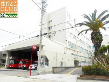 明石市消防署中崎分署の画像1