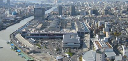 大阪市中央卸売市場の画像1