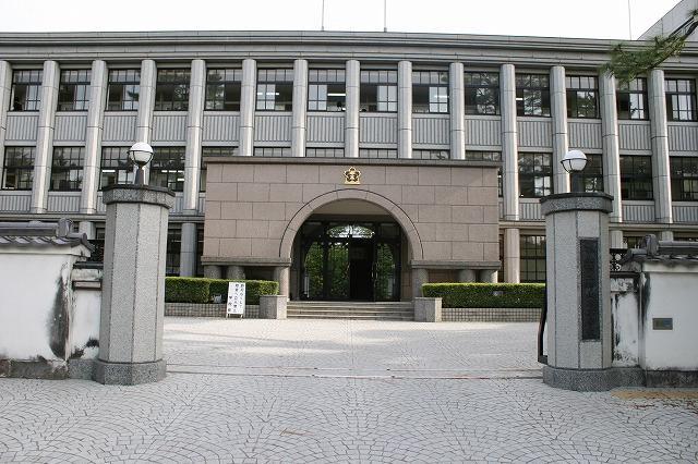 奈良県立郡山高等学校の画像