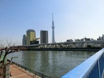 駒形橋隅田川
