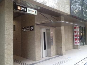 北浜駅の画像1