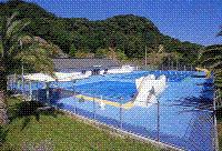 町民プールの画像