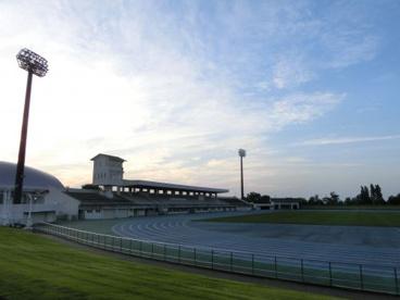 新発田市五十公野公園陸上競技場の画像1