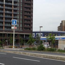 ローソン 三郷谷中店の画像1