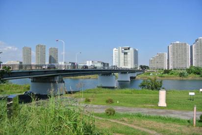 多摩川 ガス橋付近の画像1