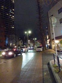 夜のプラチナ通りの画像1