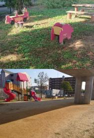 比島町東公園の画像1