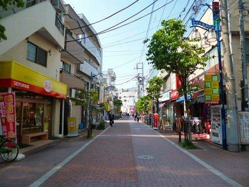 矢口渡駅前商店街の画像