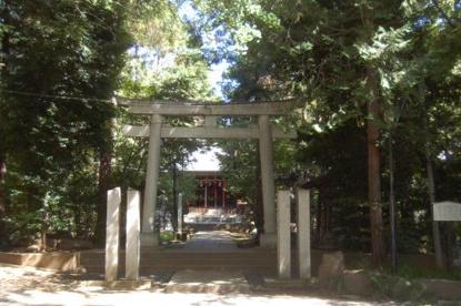 土支田八幡宮の画像1