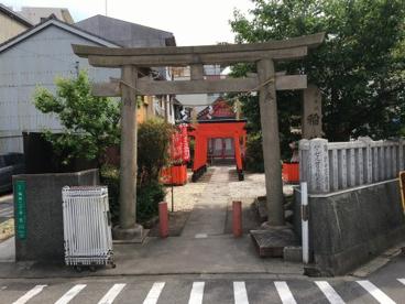 赤手拭稲荷神社の画像1