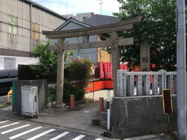 赤手拭稲荷神社の画像2