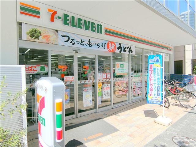 セブンイレブン大田区蒲田あやめ橋店の画像