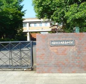 鴻巣市立鴻巣南中学校の画像1