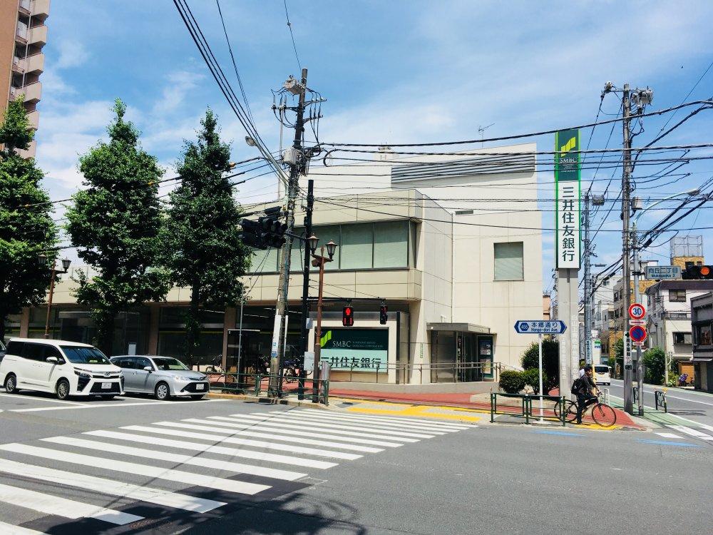 (株)三井住友銀行 白山支店