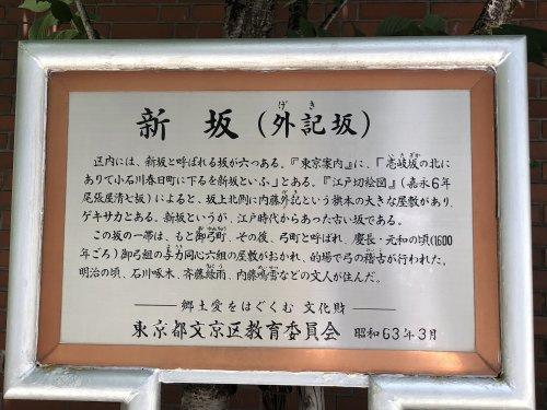 新坂(外記坂)