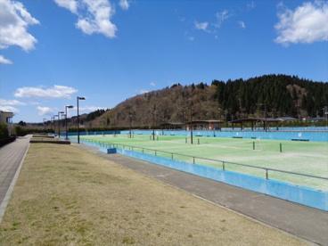 高館テニスコートの画像1
