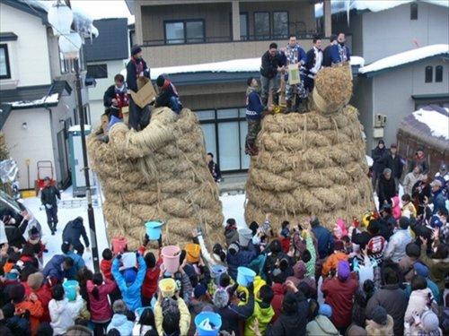 刈和野の大綱引き会場の画像