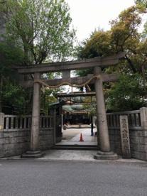 難波八阪神社の画像1