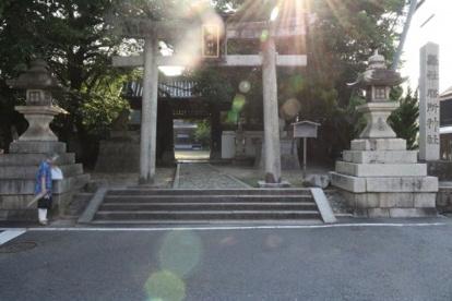 膳所神社の画像1