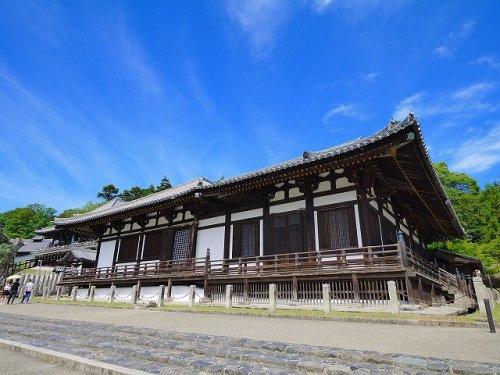 東大寺 法華堂 三月堂(とうだいじほっけどうさんがつどう)の画像