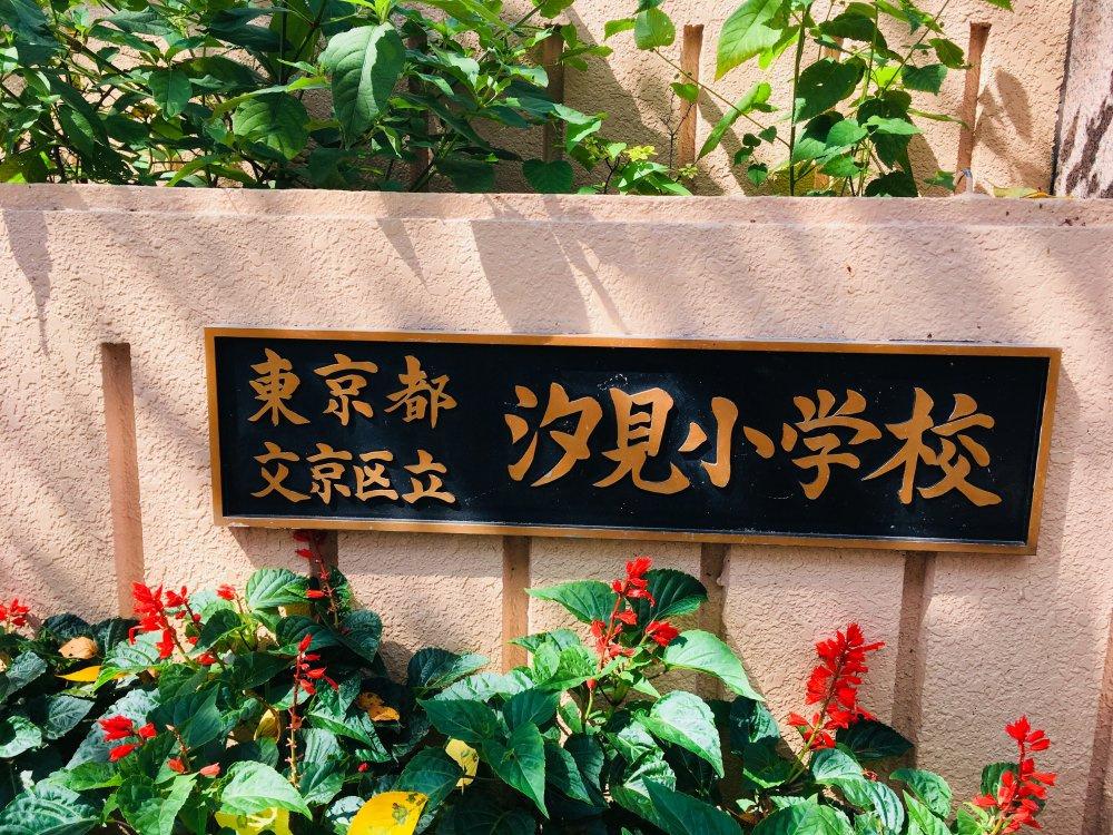 文京区立汐見小学校