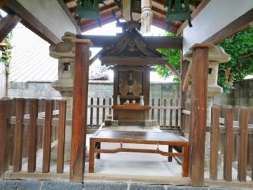 白山神社(元興寺町)の画像1