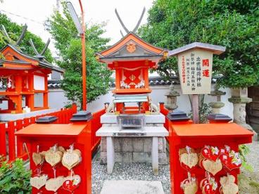 出世稲荷神社(御霊神社内)の画像1