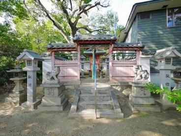 八幡神社(櫟本)の画像1