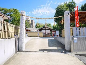 率川神社 春日社の画像1