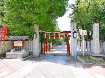 率川神社 春日社の画像2