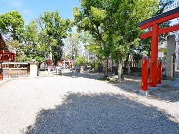 率川神社 春日社の画像4