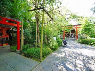 源九郎稲荷神社(漢國神社内)の画像2