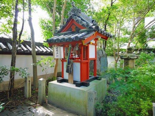 八王子社(漢國神社内)の画像