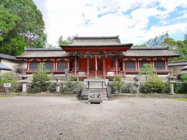薬師寺休ヶ岡八幡宮の画像1
