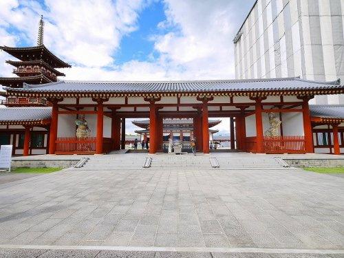 薬師寺 中門の画像