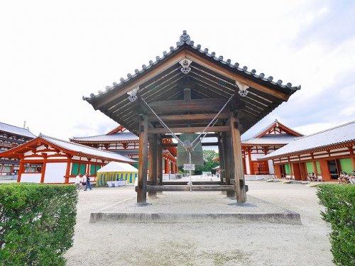 薬師寺 鐘楼の画像