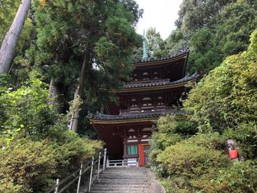 松尾寺三重塔の画像1
