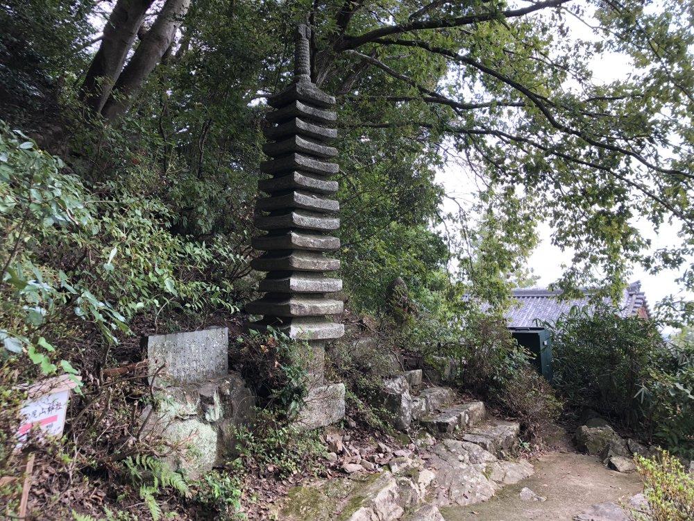 松尾寺十三重塔(じゅうさんじゅうとう)の画像