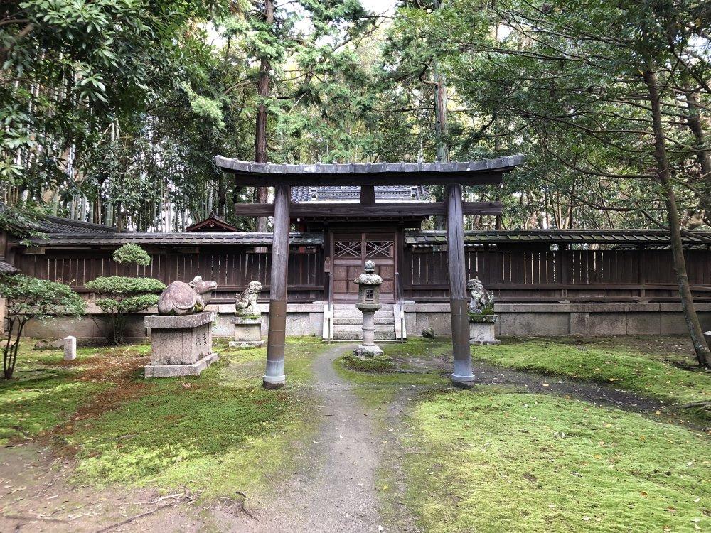 水鏡天神社の画像