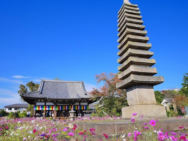 般若寺十三重塔の画像