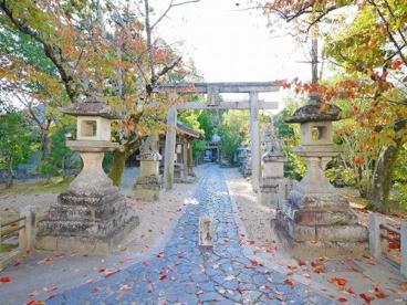 奈良豆比古神社 鳥居の画像4
