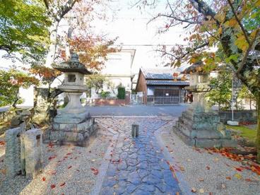 奈良豆比古神社 鳥居の画像5