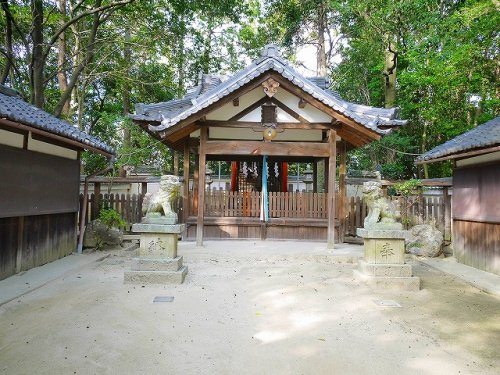 佐紀神社(亀畑)の画像