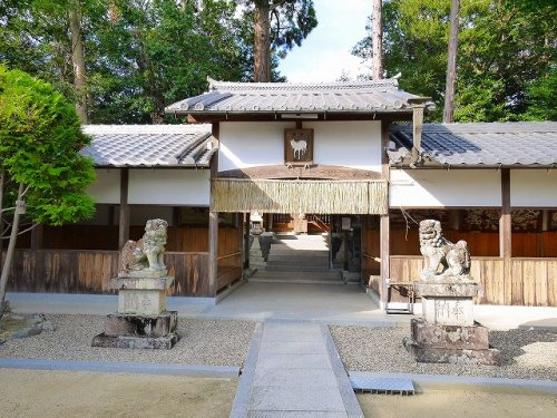 山上八幡神社の画像