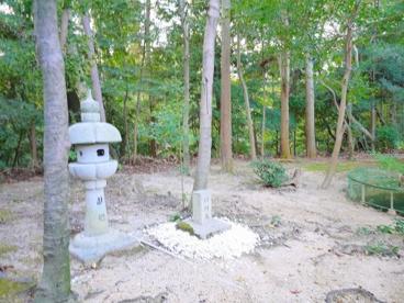 瓣財天 石碑(添御県坐神社)の画像4
